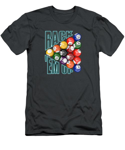 Rack Em Up Men's T-Shirt (Athletic Fit)