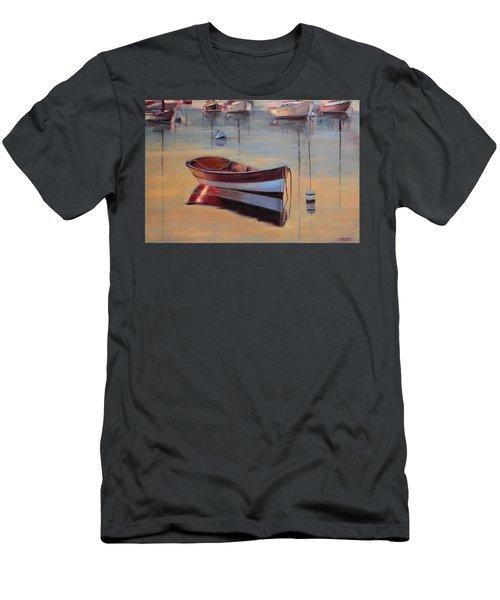 Radiant White Men's T-Shirt (Slim Fit) by Trina Teele