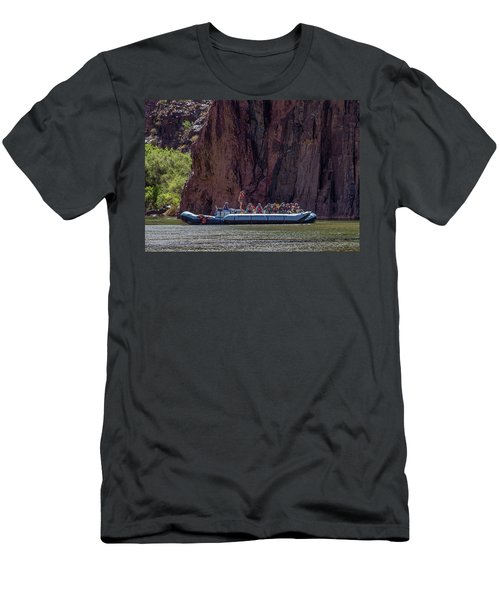 Rafters On The Colorado River, Grand Canyon Men's T-Shirt (Athletic Fit)