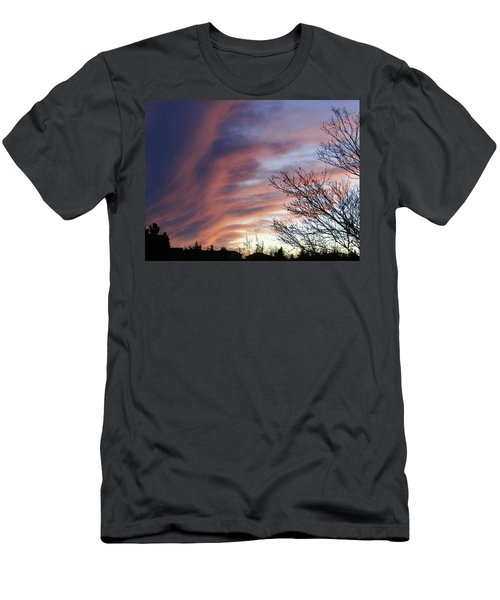 Men's T-Shirt (Slim Fit) featuring the photograph Raging Sky by Barbara Griffin