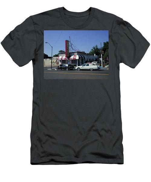 Men's T-Shirt (Slim Fit) featuring the photograph Raifords Disco Memphis A by Mark Czerniec