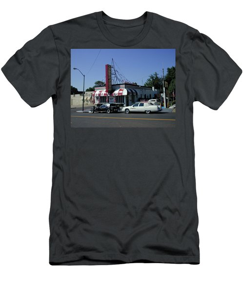 Men's T-Shirt (Athletic Fit) featuring the photograph Raifords Disco Memphis A by Mark Czerniec