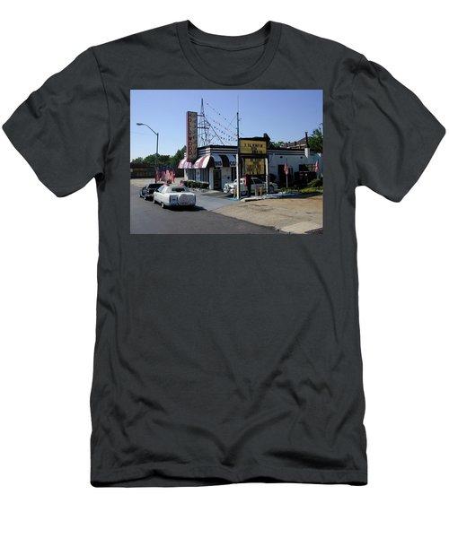 Men's T-Shirt (Slim Fit) featuring the photograph Raifords Disco Memphis B by Mark Czerniec