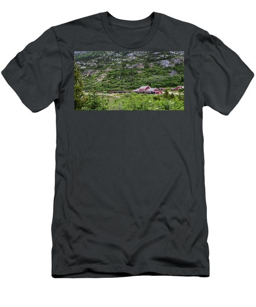 Railroad To The Yukon Men's T-Shirt (Athletic Fit)
