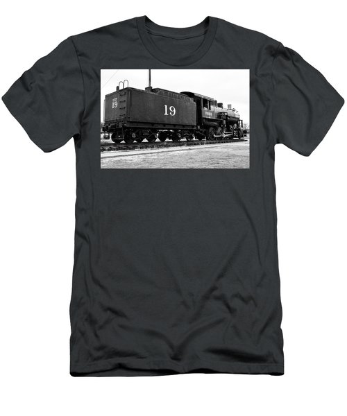 Railway Engine In Frisco Men's T-Shirt (Athletic Fit)