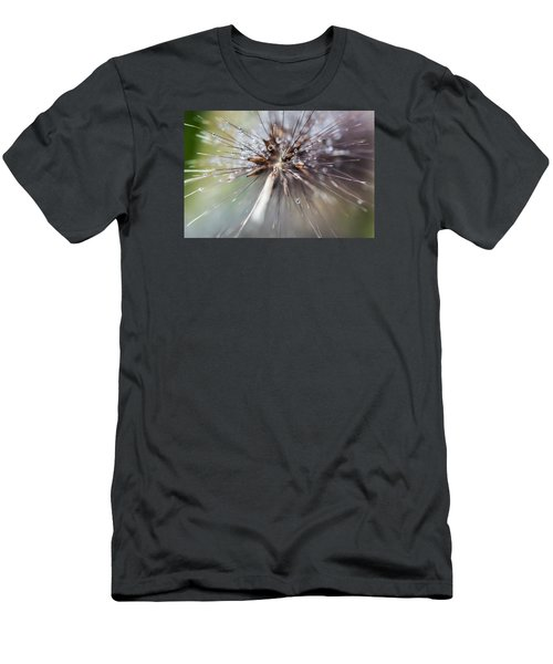 Rain Drops - 9756 Men's T-Shirt (Slim Fit) by G L Sarti