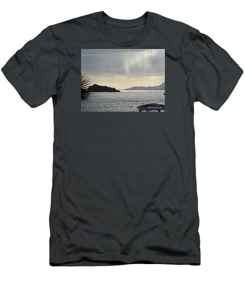 Rain Over Pelican Key Men's T-Shirt (Athletic Fit)
