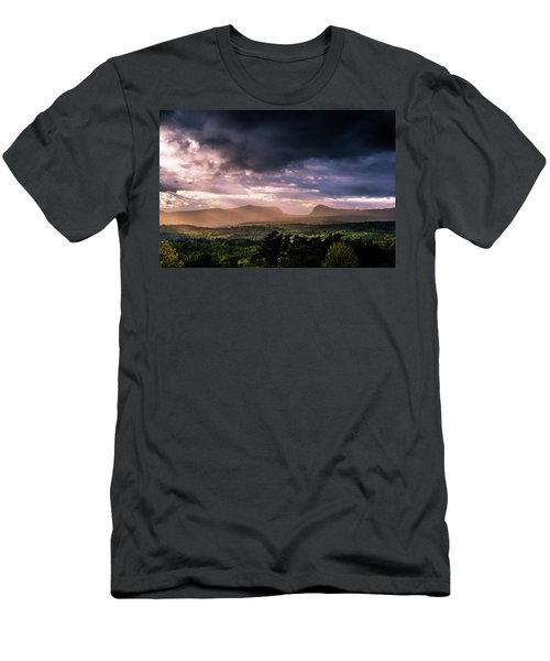Rain Showers Over Willoughby Gap Men's T-Shirt (Athletic Fit)