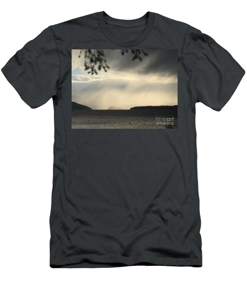 Men's T-Shirt (Athletic Fit) featuring the photograph Rain by Victor K