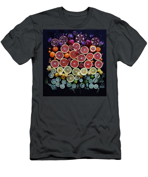 Rainbow Citrus Etc Men's T-Shirt (Athletic Fit)