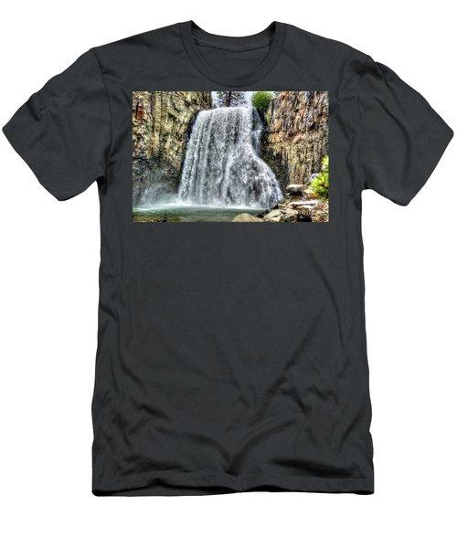 Rainbow Falls 7 Men's T-Shirt (Athletic Fit)
