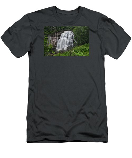Rainbow Falls  Men's T-Shirt (Athletic Fit)