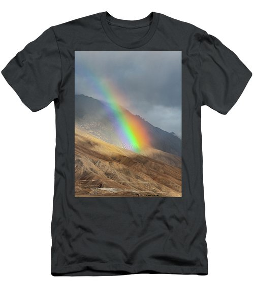 Rainbow, Kaza, 2008 Men's T-Shirt (Athletic Fit)