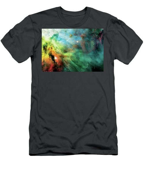 Rainbow Orion Nebula Men's T-Shirt (Athletic Fit)