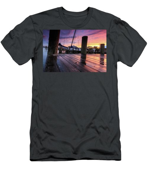 Rainbow Reflections Men's T-Shirt (Athletic Fit)