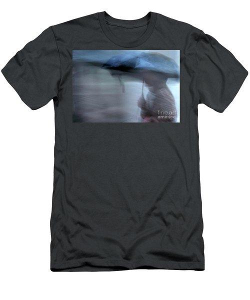 Raining In New Orleans Men's T-Shirt (Slim Fit) by Kathleen K Parker