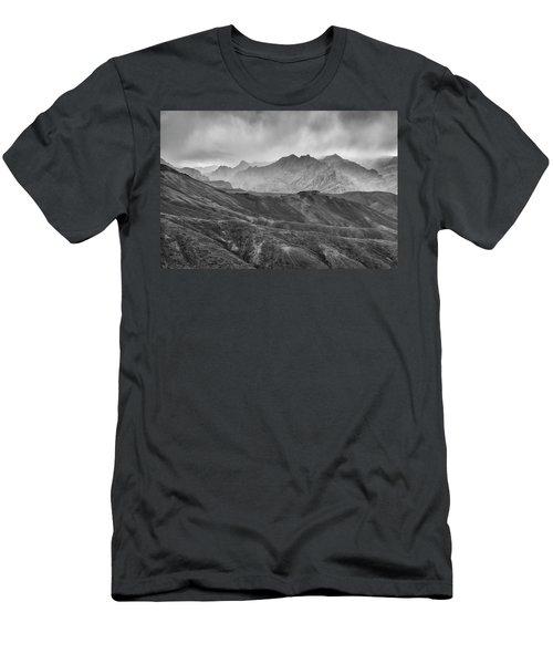 Rainy Day Men's T-Shirt (Slim Fit) by Hitendra SINKAR