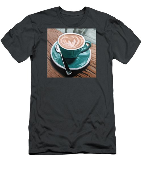 Rainy Day Men's T-Shirt (Slim Fit) by Nathan Rhoads