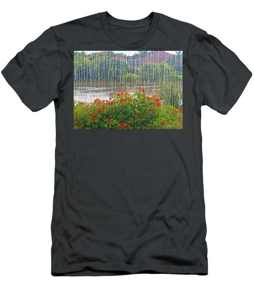 Rainy Day Men's T-Shirt (Athletic Fit)