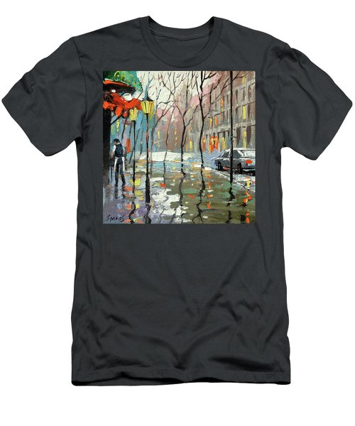Rainy Landscape Men's T-Shirt (Athletic Fit)