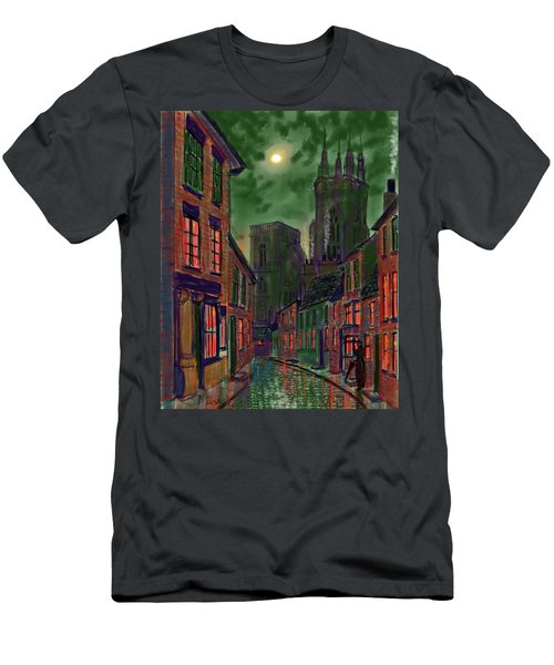 Rainy Night In Kirkgate Men's T-Shirt (Athletic Fit)