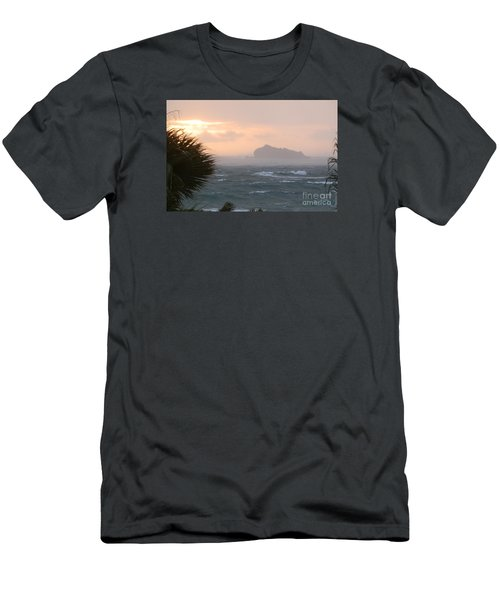 Rainy Xmas Sunrise Men's T-Shirt (Athletic Fit)
