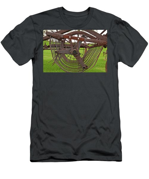 Men's T-Shirt (Slim Fit) featuring the photograph Rake 3118 by Guy Whiteley