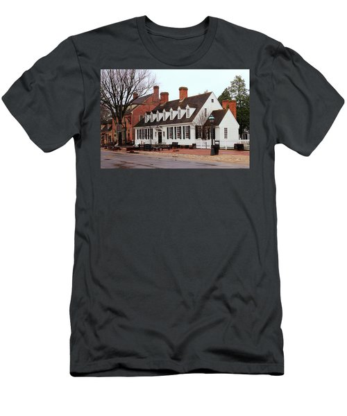 Raleigh Tavern 2 Men's T-Shirt (Athletic Fit)
