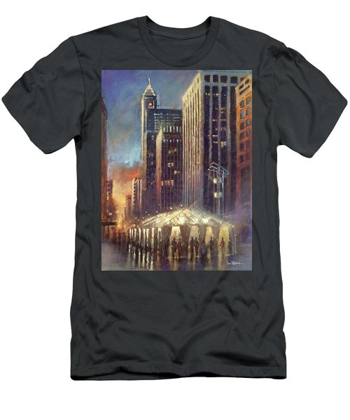 Raleigh With Symphony Tent Men's T-Shirt (Athletic Fit)