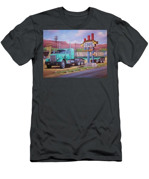 Ranch House Truckstop. Men's T-Shirt (Slim Fit) by Mike Jeffries