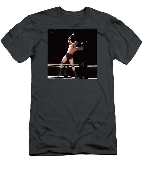 Randy Orton Wrestler Men's T-Shirt (Athletic Fit)