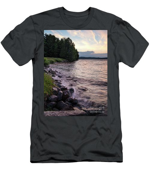 Rangeley Lake State Park In Rangeley Maine  -53215-53218 Men's T-Shirt (Athletic Fit)