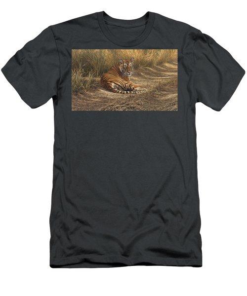 Ranthambore Roadblock Men's T-Shirt (Athletic Fit)