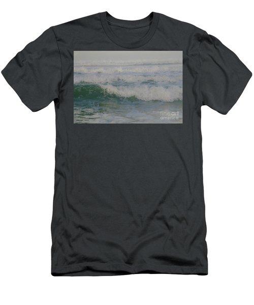 Rapid Waves Men's T-Shirt (Slim Fit) by Iris Greenwell