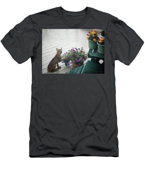 Swat The Petunias Men's T-Shirt (Athletic Fit)