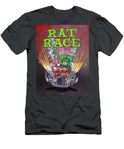 Rat Race Men's T-Shirt (Athletic Fit)
