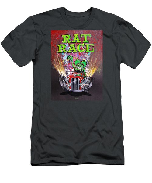 Rat Race Men's T-Shirt (Athletic Fit)