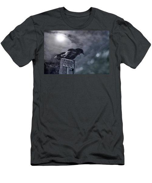 Raven Twilight Men's T-Shirt (Athletic Fit)