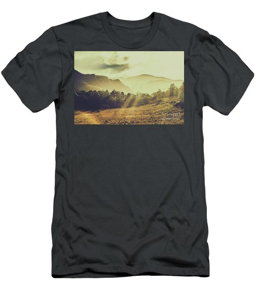 Rays Of Dusk Men's T-Shirt (Athletic Fit)