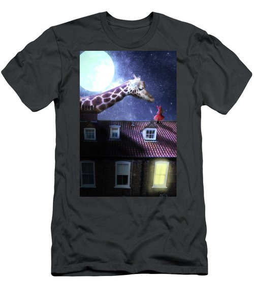 Reaching Out Men's T-Shirt (Slim Fit) by Nathan Wright