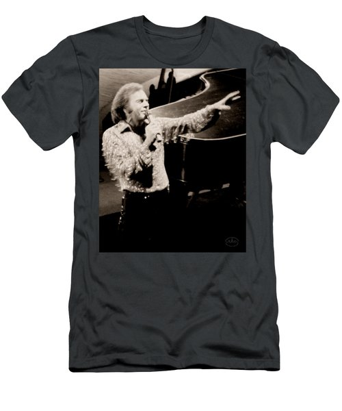 Reaching Out Men's T-Shirt (Slim Fit) by Ron Chambers