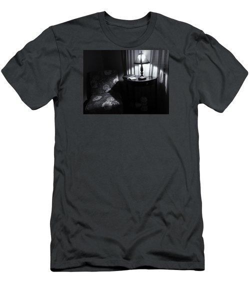 Reading Corner Men's T-Shirt (Slim Fit) by Bonnie Bruno
