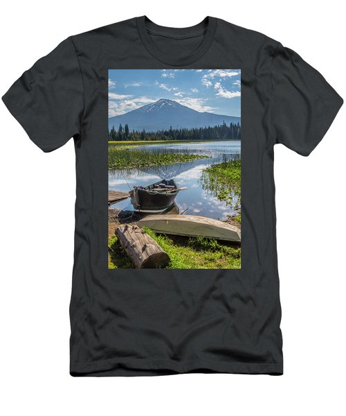 Ready To Fish Men's T-Shirt (Athletic Fit)