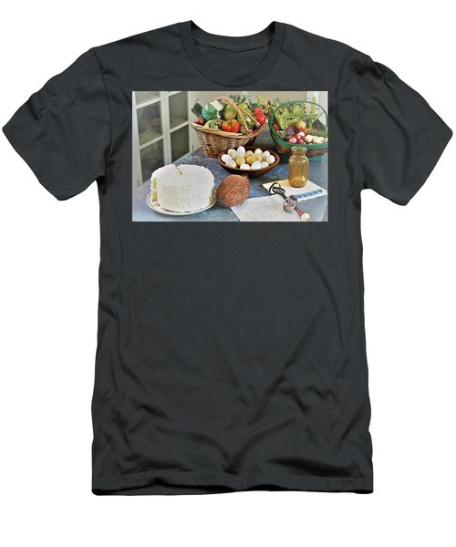Real Food Men's T-Shirt (Athletic Fit)