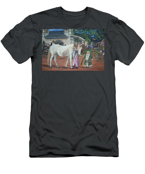 Real Life In Her Dreams Men's T-Shirt (Slim Fit) by Bryan Bustard