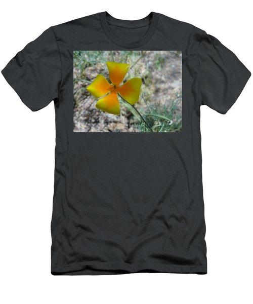 One Gold Flower Living Life In The Desert Men's T-Shirt (Athletic Fit)