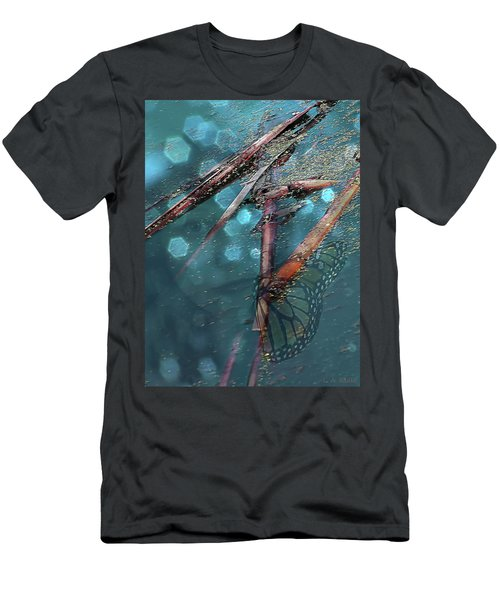 Rebirth Men's T-Shirt (Slim Fit) by Lauren Radke