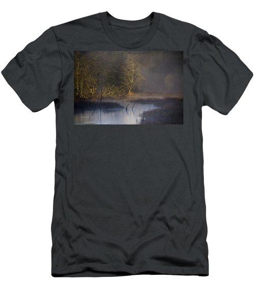 Red Alder Along Colewort Creek Men's T-Shirt (Athletic Fit)
