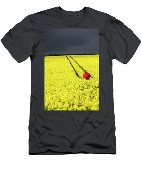 Red And Yellow And....... Men's T-Shirt (Athletic Fit)