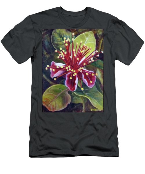 Pineapple Guava Flower Men's T-Shirt (Athletic Fit)